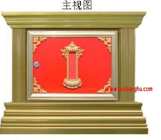 纳骨堂骨灰寄存柜箱体设计效果图江西仙廷xt-06