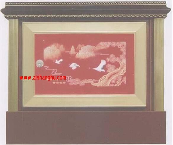 寺庙佛堂骨灰存放架架体专利设计图案江西仙廷xt-14