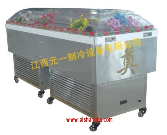 殡仪馆不锈钢瞻仰水晶棺YY-S1江西元一牌