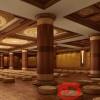 寺院佛教万佛架设计装修效果图江西泰恒