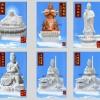 佛像艺术佛教菩萨雕塑搏石工艺雕塑