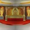 佛堂寺庙骨灰盒存放架工程设计案例效果图江西仙廷精藏