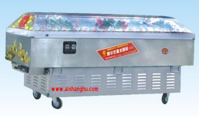 直冷式不锈钢水晶棺箱体机械控温直冷式DP-5(6)迪尔制冷