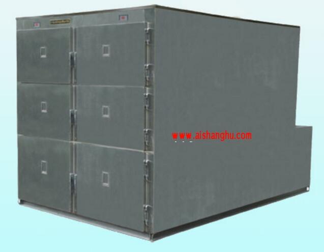 不锈钢六门一体太平柜DTG-6A(B)聚氨酯发泡迪尔制冷