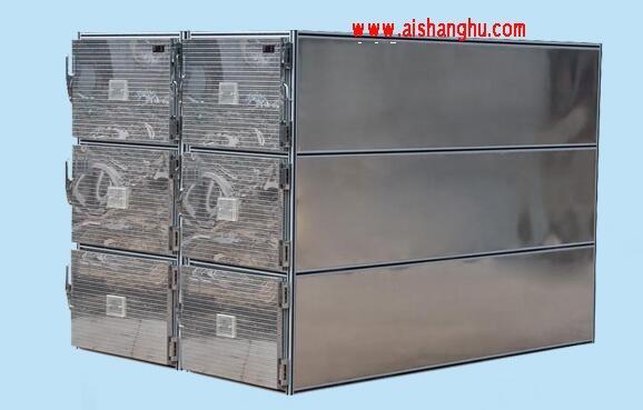 不锈钢尸体冷藏柜豪华六门一体太平柜箱体九江天红