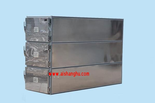尸体不锈钢三门一体太平柜冷藏柜结构及技术性能九江天红