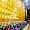 智能万佛墙现场拍照高清照片江西广泉