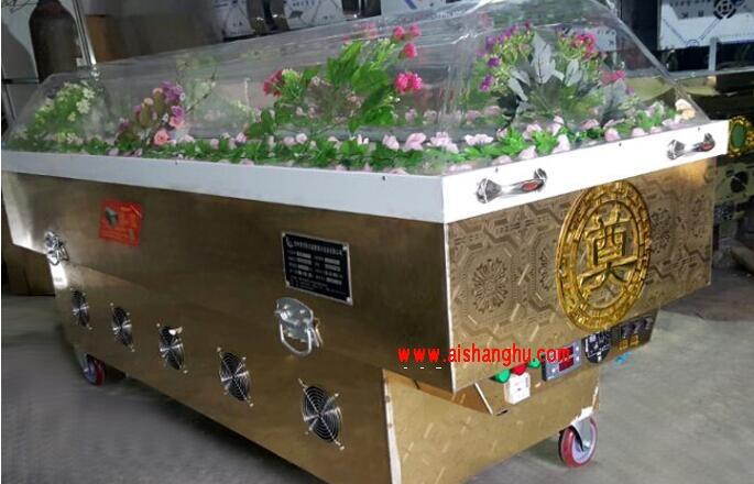 金属水晶棺箱体A2a6pc耐力板棺罩贵州恒安胜
