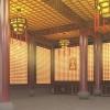 寺庙寺院佛堂桃柱型智能光明灯可根据大殿墙面面积定制四川八吉祥