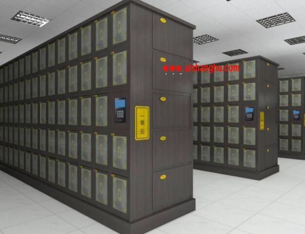 寺庙佛教智能骨灰盒存放架寄存信息管理系统殡葬软件江苏福恩达