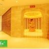 佛教佛堂骨灰盒存放架嘉兴工程案例照片真心莲坊
