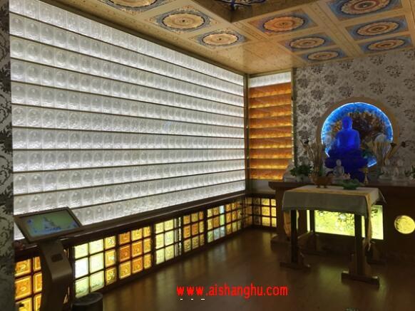 寺院琉璃智能万佛墙灯控系统河南快雪软件