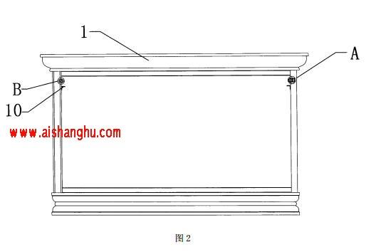 骨灰存放柜门板与柜体的组装结构技术方案