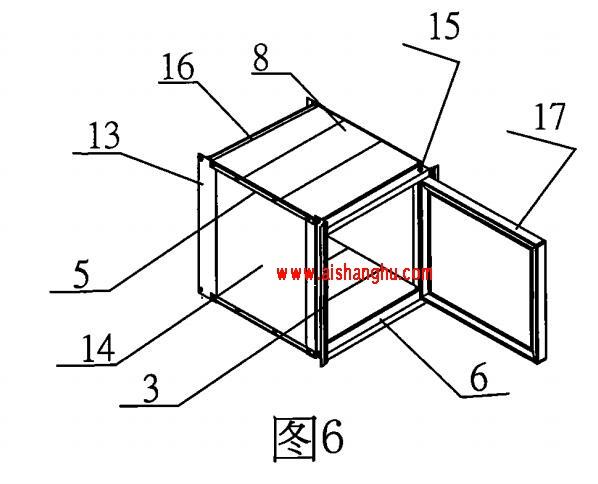 组合式骨灰存放架技术参数