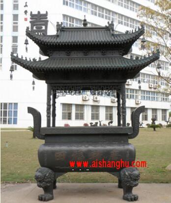 寺庙佛教太平报恩寺香炉江西桐青