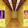 地宫骨灰楼室内骨灰存放架效果图装修效果高清照片厦门汇纳