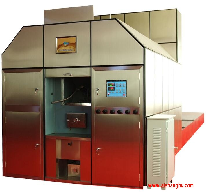 LHP-2型殡仪馆高档智能节能环保平板火化机山东玲华