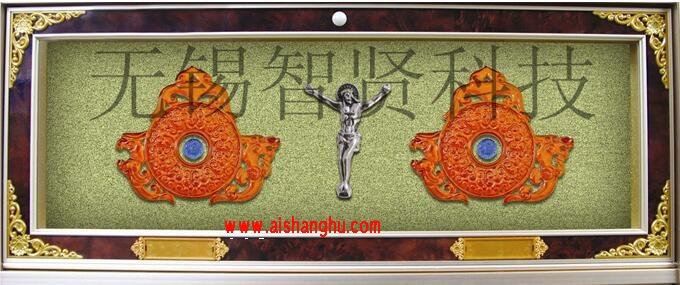 灵骨塔豪华型双穴骨灰盒寄存柜H-7型设计面板无锡智贤