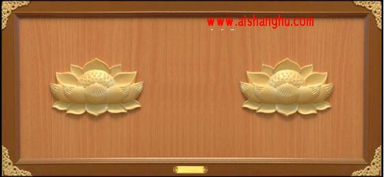 海会塔经济型双穴骨灰存放架J-4型设计面板无锡智贤