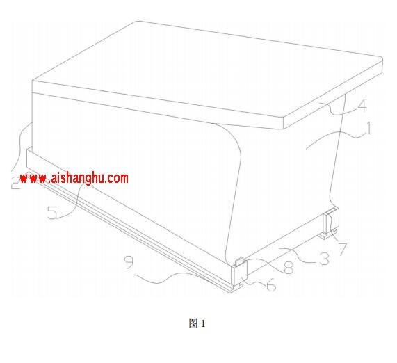 安葬骨灰棺形骨灰盒技术方案