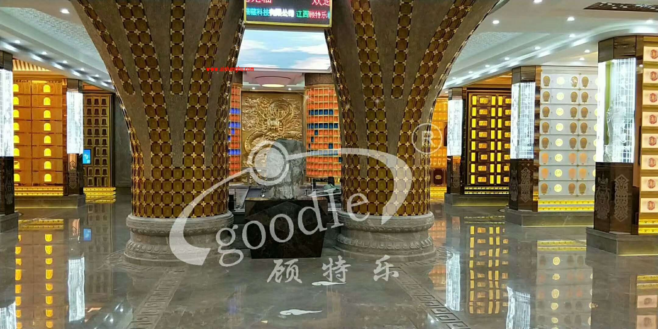 地宫骨灰穴位架面板样式超清案例照片江西顾特乐