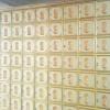 祠堂放骨灰盒的骨灰存放架箱体现场照片图山东汇尔丰