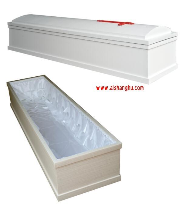 殡仪馆遗体基督教一次性冷藏火化棺材安徽启浪