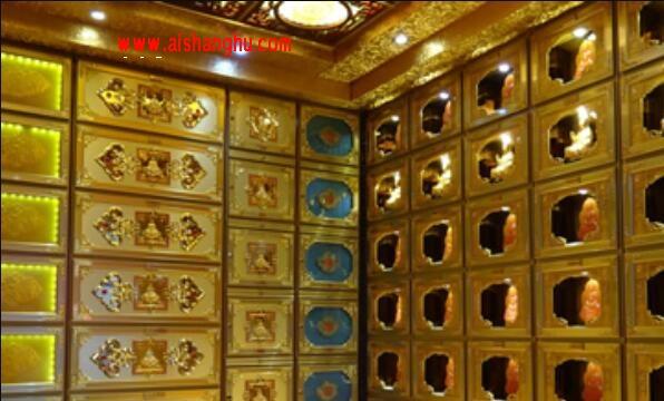 SSD-JCJ-II型地宫骨灰寄存架装修圣火牌上海申东
