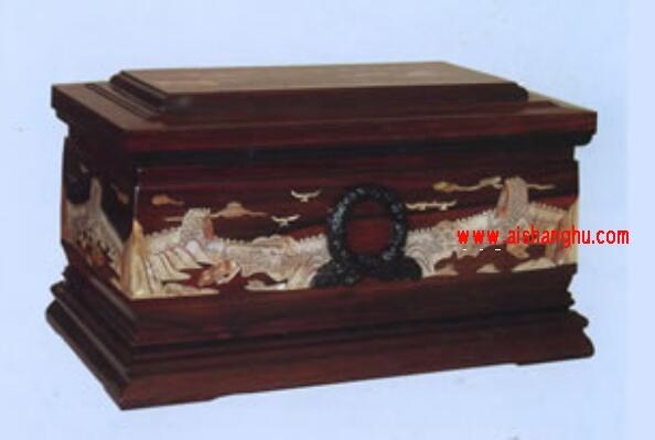 SSD-GHH系列(永远怀念)实木骨灰盒圣火牌上海申东