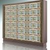 菩提叶(单双穴骨灰盒存放架面板)纳米瓷塑材料效果图江西仙廷