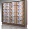 水晶面板B型(单双穴骨灰盒存放架面板)铝合金压铸材料镇嵌水晶