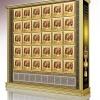 寺庙万佛架A型系列整体效果图铝合金型材江西仙廷