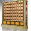 寺庙佛堂万佛架C型系列整体设备效果图铝合金型材江西仙廷