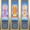 寺庙佛教骨灰盒存放架侧面板样式图XTCB-001-003仙廷