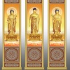 佛教骨灰存放架侧面板样式图XTCB-007-009仙廷